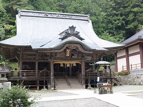 牛伏寺の写真